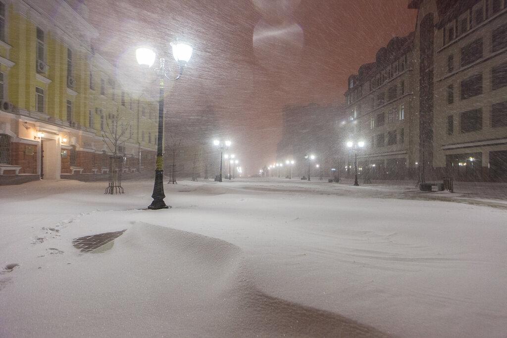Сильный снегопад обрушился на Брянскую область