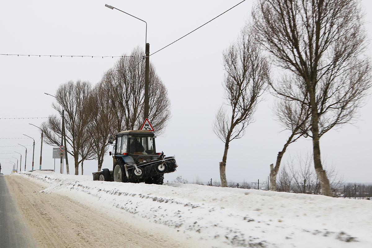 Из Брянска вывезли более 51 тысячи тонн снега за 14 дней