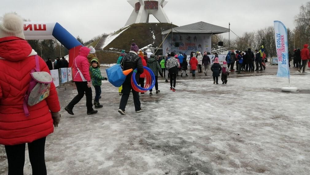 Фестиваль зимних видов спорта проведут на Кургане Бессмертия в Брянске 23 января