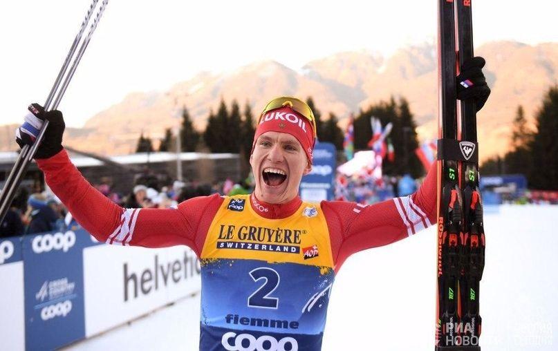 Брянский лыжник Большунов стал победителем в спринте на чемпионате России