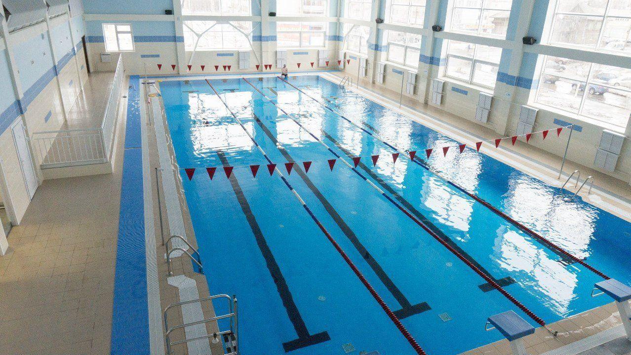 Новый спорткомплекс «Олимп» в городе Дятьково Брянской области планируют открыть в апреле