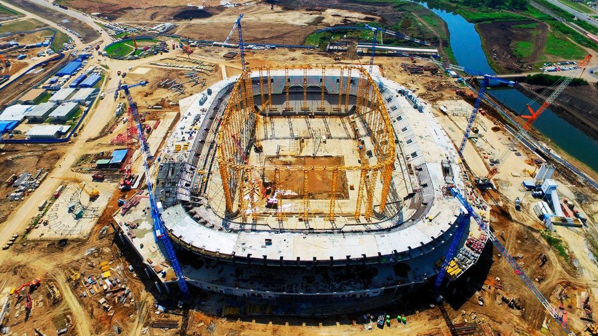 Брянский губернатор Богомаз потребовал ускорить строительство стадионов