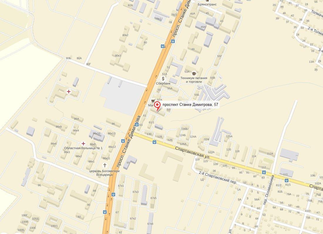 Участок дороги на проспекте Станке Димитрова в Брянске будет отремонтирован