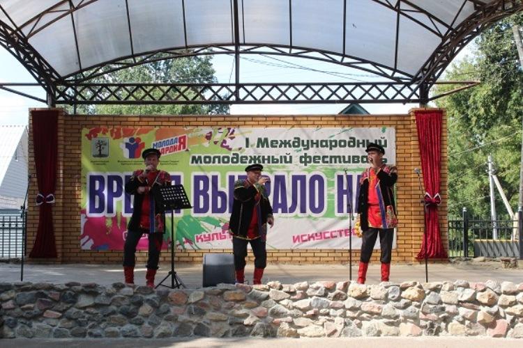 В Стародубе впервые прошел международный молодежный фестиваль