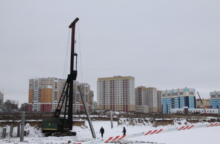 В Брянске идет активное строительство детских садов и школ
