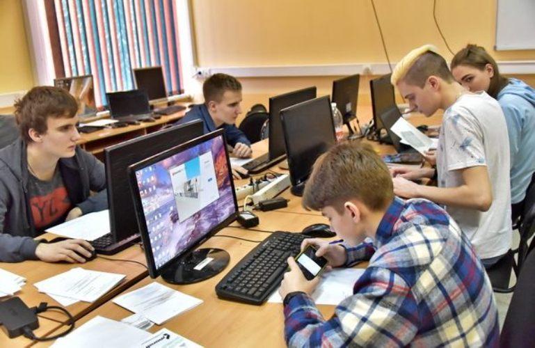 В Брянске проходит IT-чемпионат для студентов и школьников