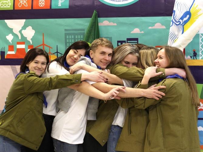 В Брянской области работают 103 студенческих отряда