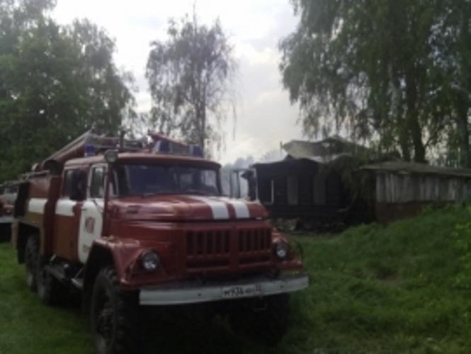 Вчера в Суражском районе сгорел дом