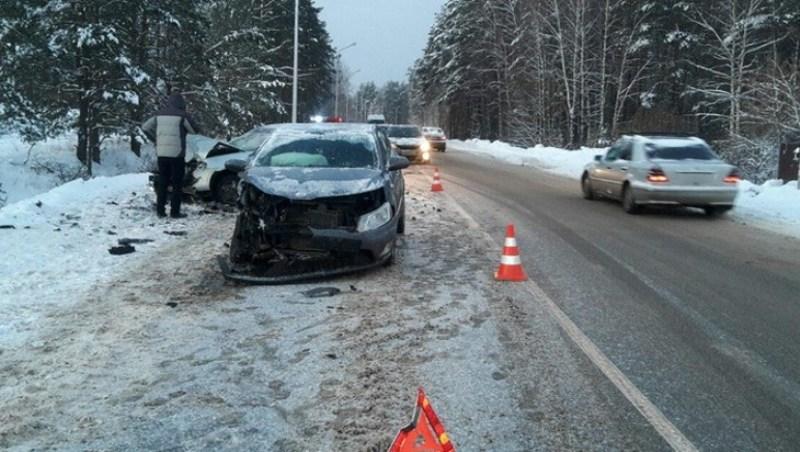В аварии под Свенью серьезно пострадал водитель иномарки