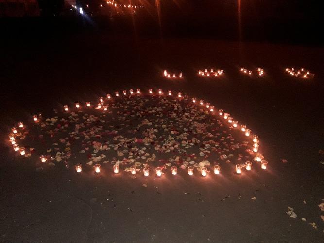 Жителей Карачева возмутило романтическое свидание влюбленной пары
