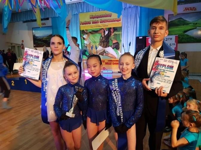 Юные брянские танцоры победили на международном фестивале