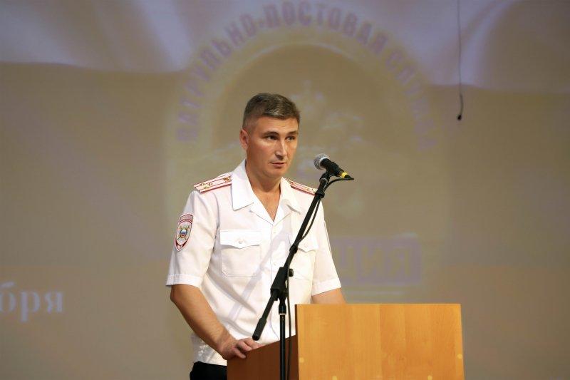 Глава УМВД по Брянской области Толкунов поздравил мужчин с 23 февраля