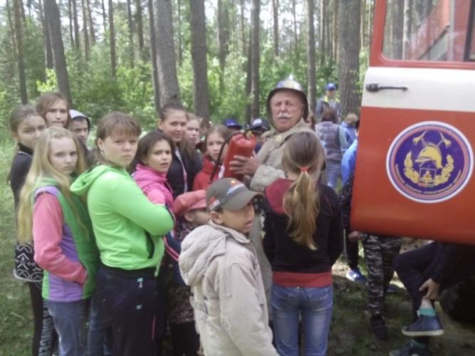 В Почепском районе для детей провели полезный урок безопасности