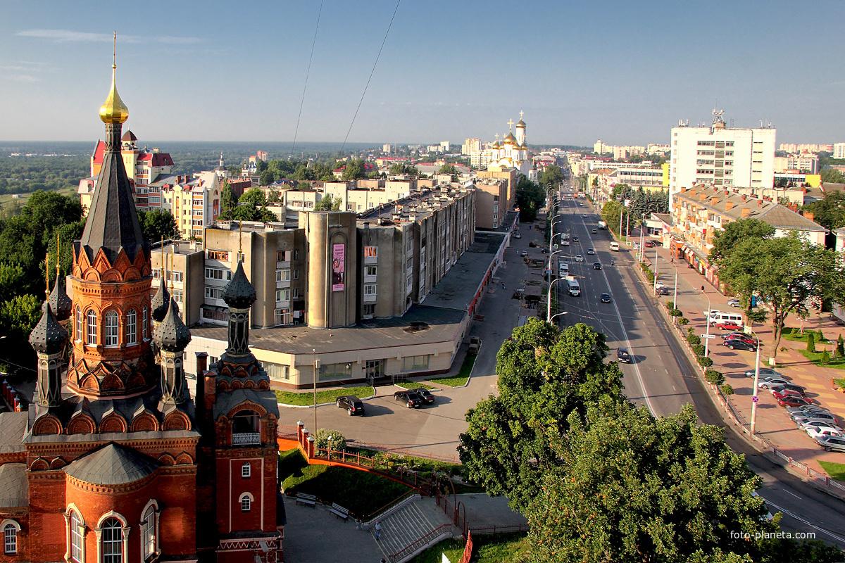 В центре Брянска 21 апреля запретят движение и парковку автомобилей