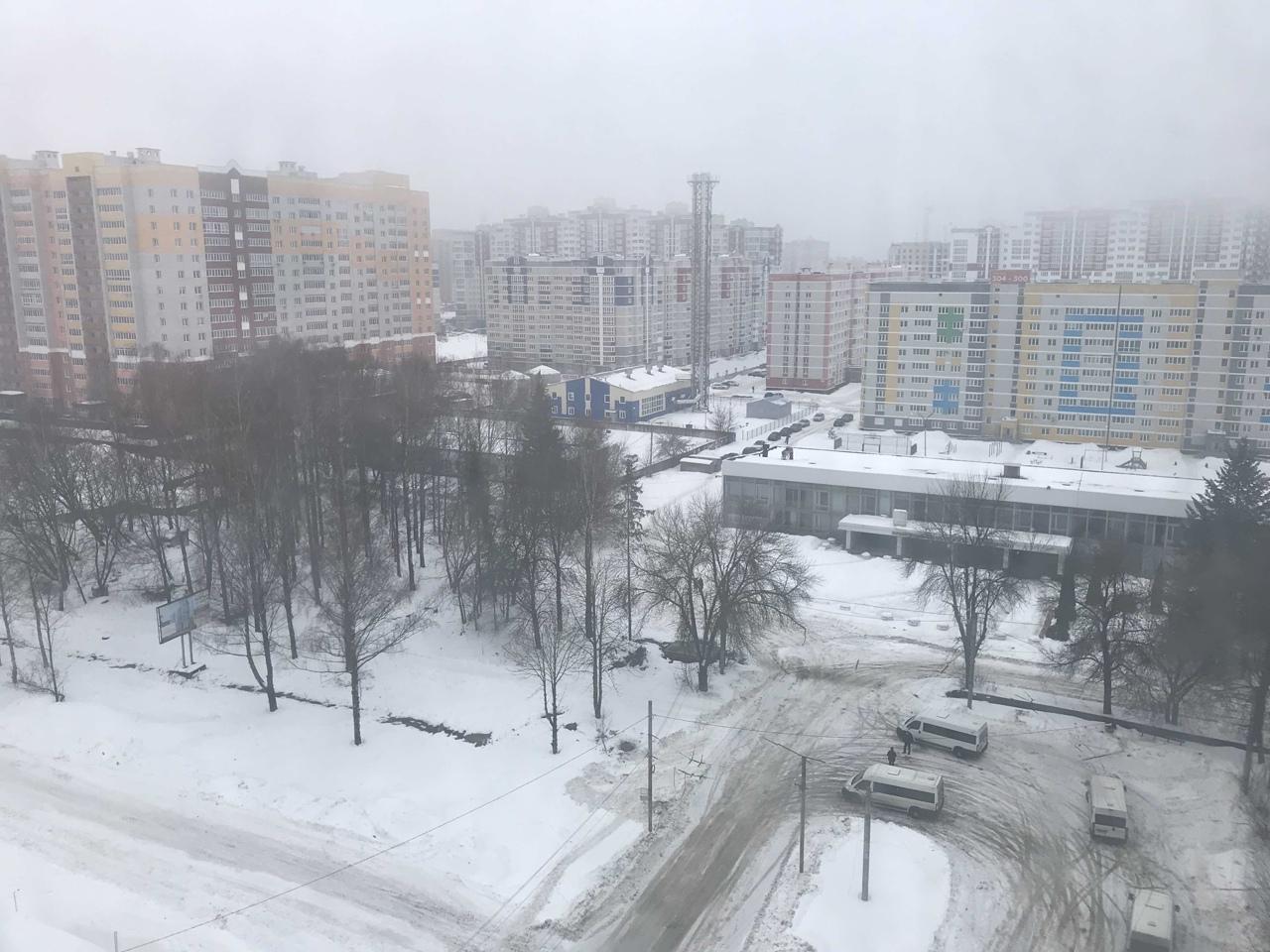 В Брянской области желтый уровень опасности продлили до 23 февраля