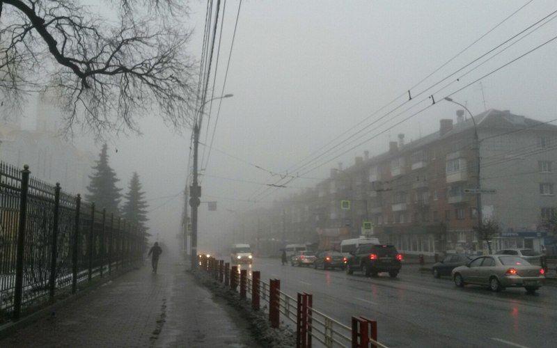 Желтый уровень опасности продержится в Брянской области до 2 января