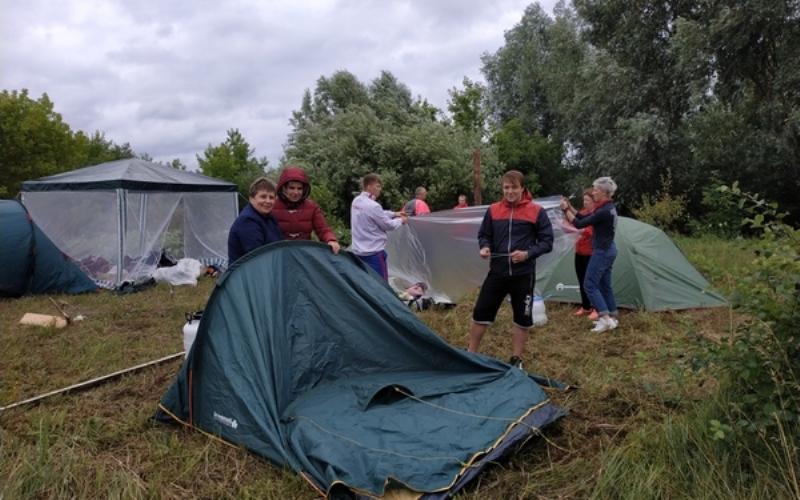 Брянские учителя встретились на турслете в Трубчевском районе