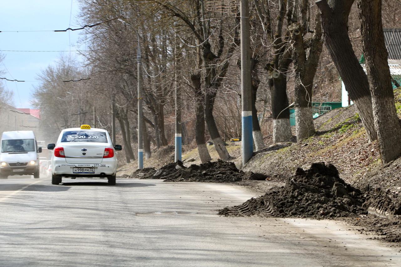 С центральных улиц Брянска вывезли более 11 тонн мусора и грязи