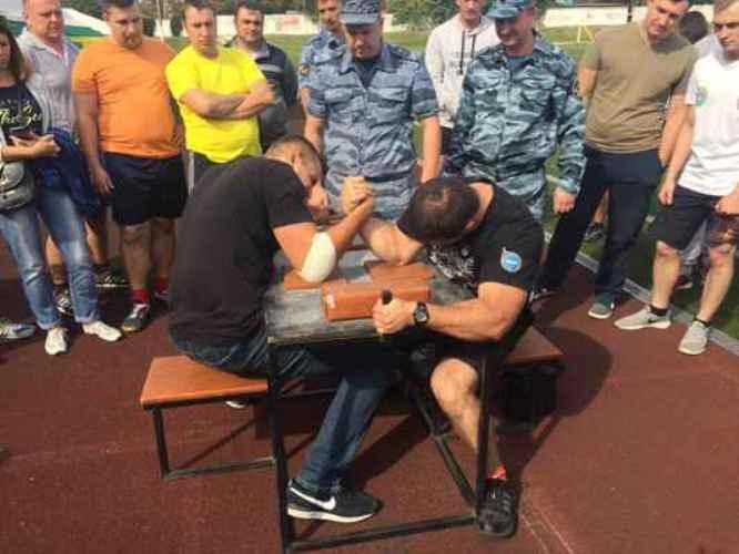 Брянские сотрудники УФСИН показали свои способности на соревнованиях