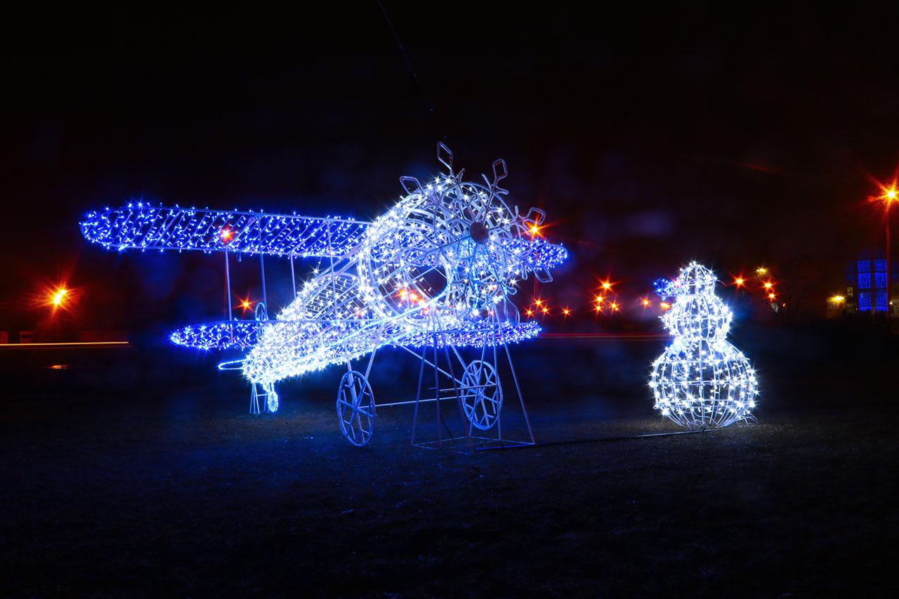 В Советском районе Брянска начался конкурс на лучшее новогоднее оформление