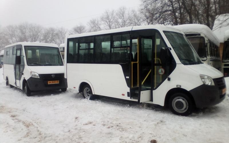 Автобусный парк Унечи пополнился новыми машинами