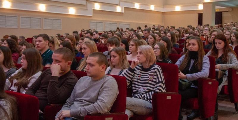 Студентам БГУ провели урок безопасности