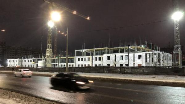 В Брянске начали строить 5-й этаж нового здания УМВД