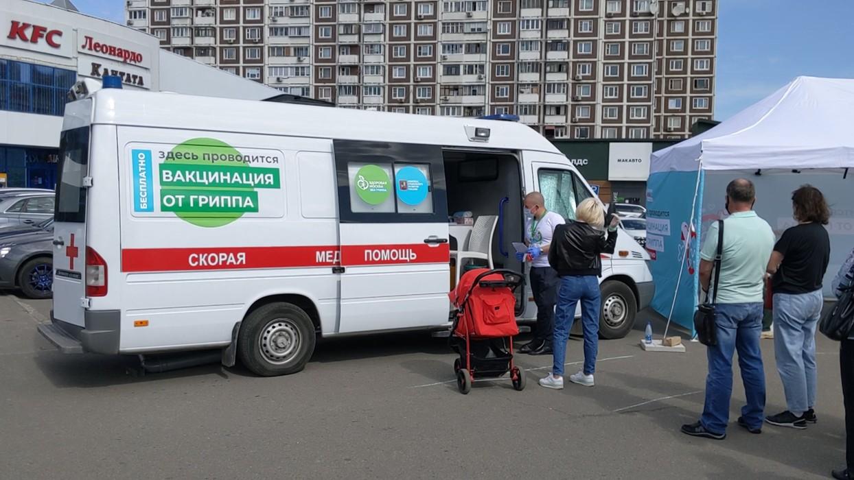 На Брянщине работают 66 стационарных и 8 мобильных пунктов вакцинации от коронавируса