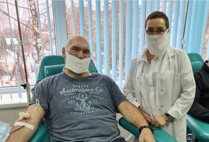 Плазму для больных коронавирусом сдал депутат Госдумы от Брянской области Валуев
