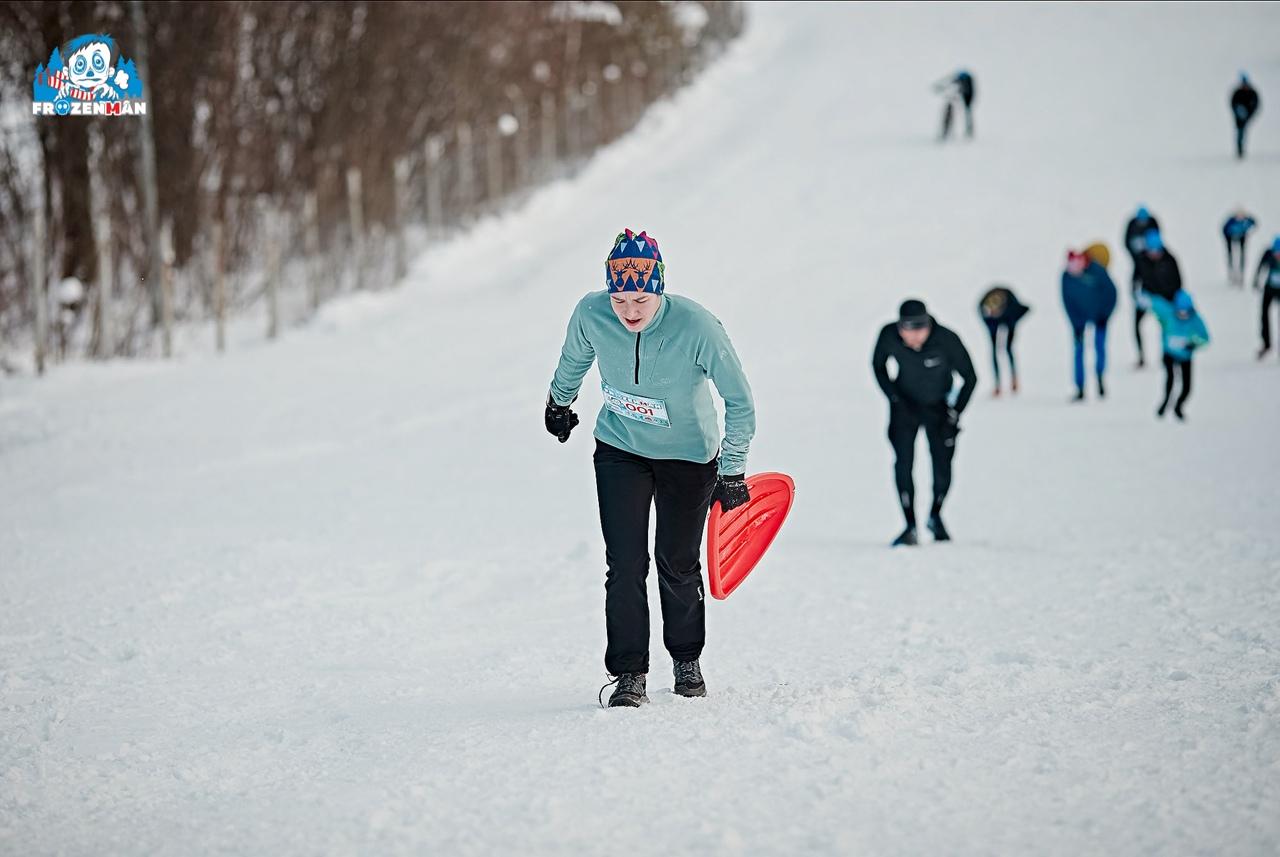 В Брянске состоится зимний беговой трейл Frozenman