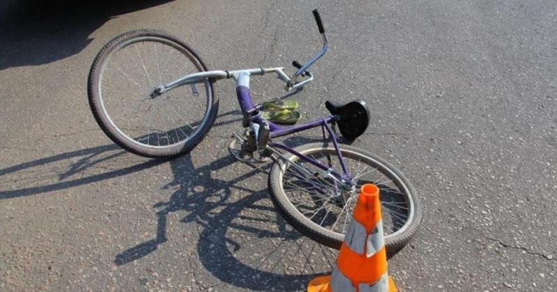В Навле автоледи разбила голову 10-летнему велосипедисту