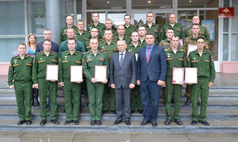 В Брянске наградили военнослужащих
