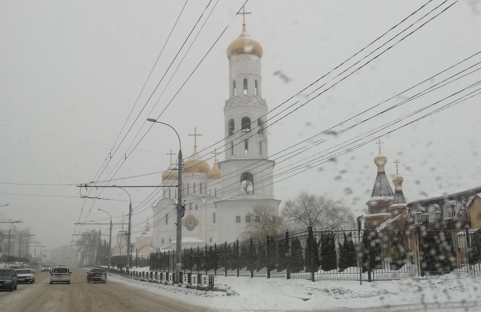 Сфотографировали из космоса заснеженный Брянск