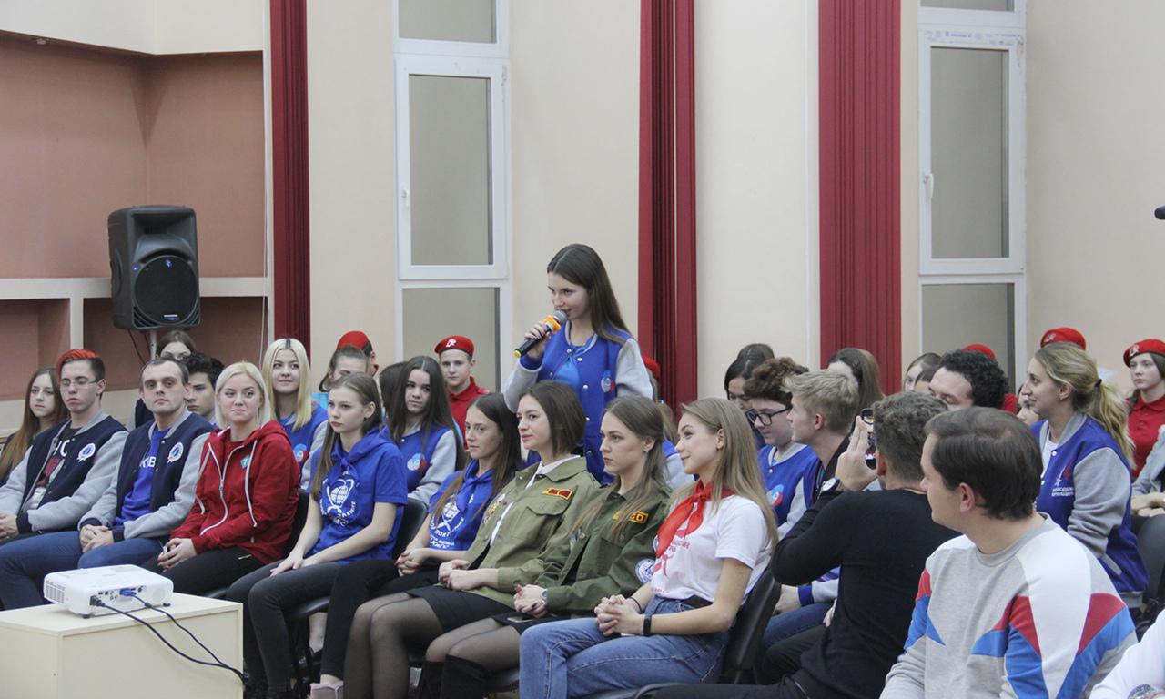Брянский губернатор Богомаз провел заседание со студентами технических вузов