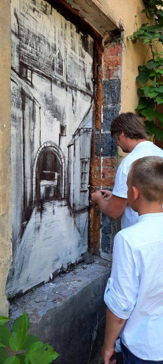 «Окно» в прошлое появилось на брянской Набережной