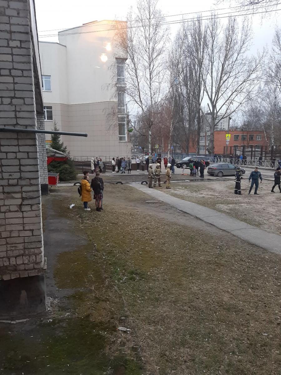 В общежитии брянского колледжа искусств произошел пожар