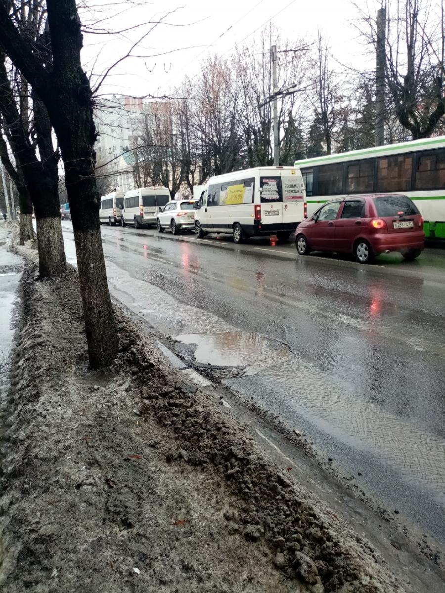Заметили дорожные волны на улице Красноармейской в Брянске