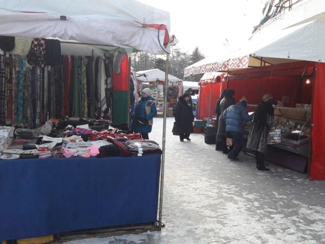 В Брянске появилось новое место для уличной торговли