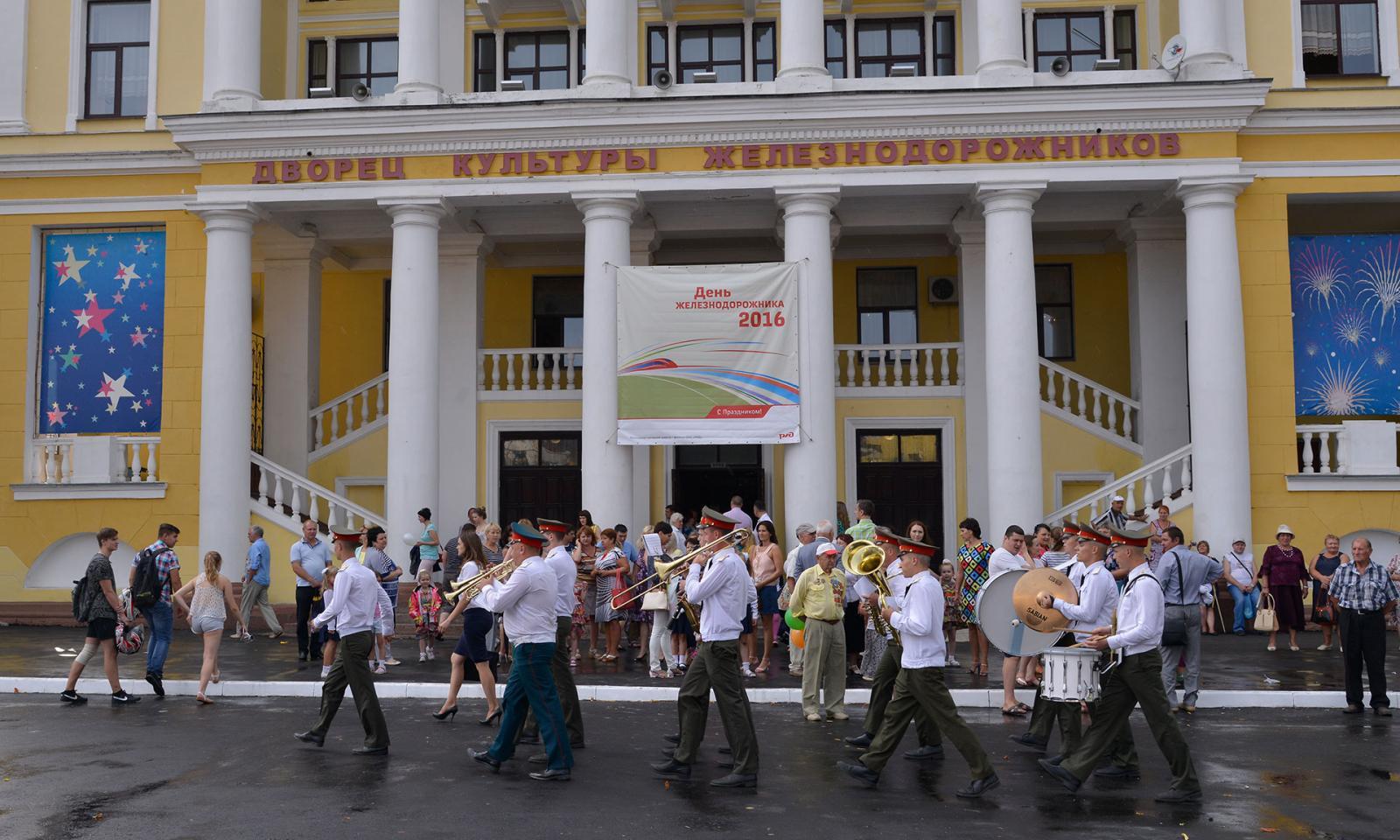 В Брянске отпразднуют День железнодорожника