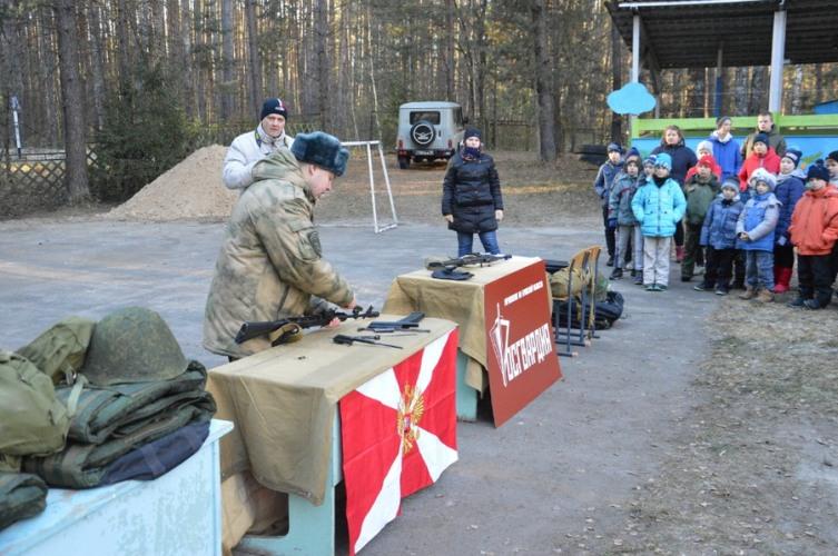 Брянские ребята показали свои умения на спортивной игре «Зарница»
