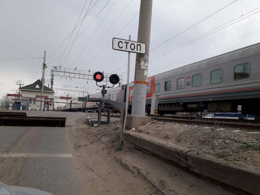В Брянске закроют железнодорожный переезд на улице Пушкина