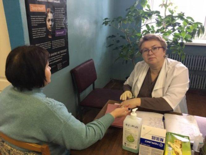 В Жирятинский район прибыл автопоезд «Здоровье»