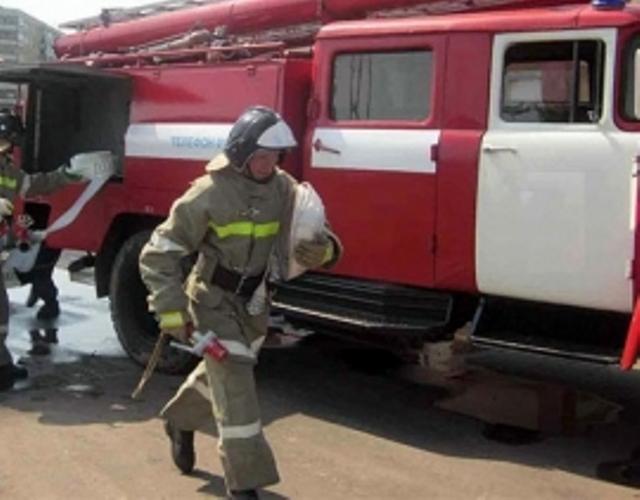 В Жуковском районе сгорел жилой дом