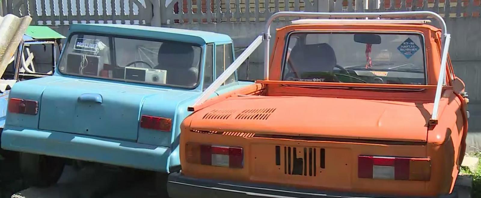 В Суземке создается музей ретроавтомобилей