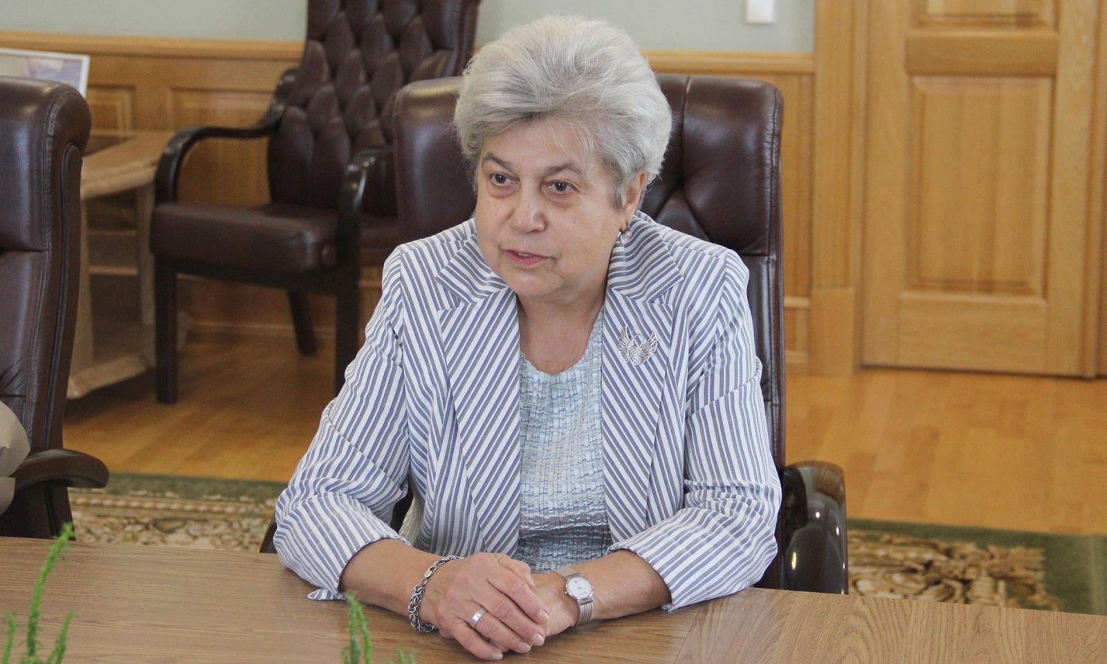 Председатель профсоюза работников агропрома страны посетила Брянск