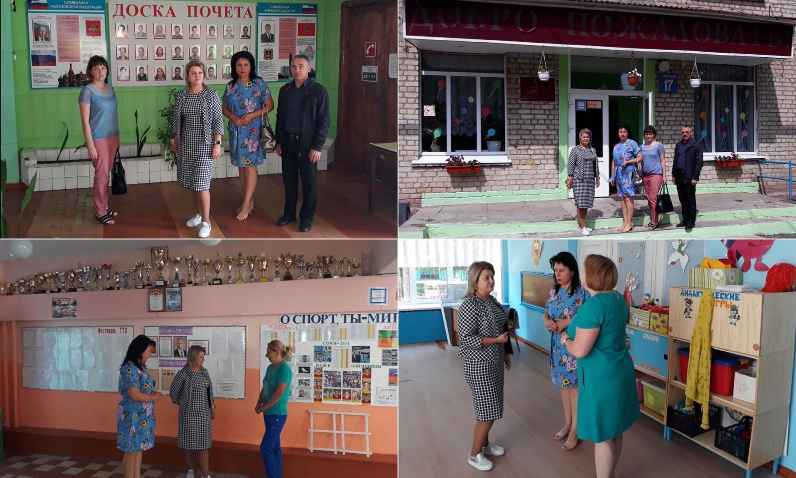 В Злынковском районе за 4 миллиона ремонтируют детский сад и школу