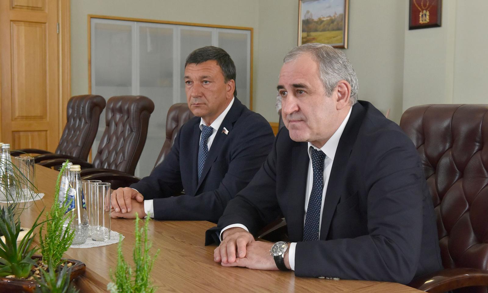 Сергей Неверов посетил Брянскую область