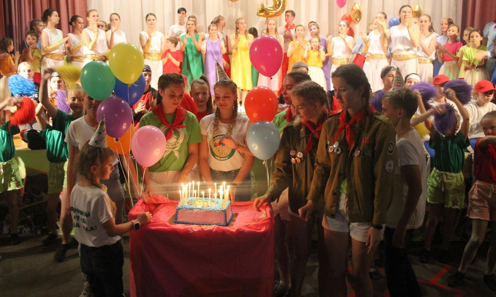 Юбилейное 35-е лето отметили всанатории «Снежка»