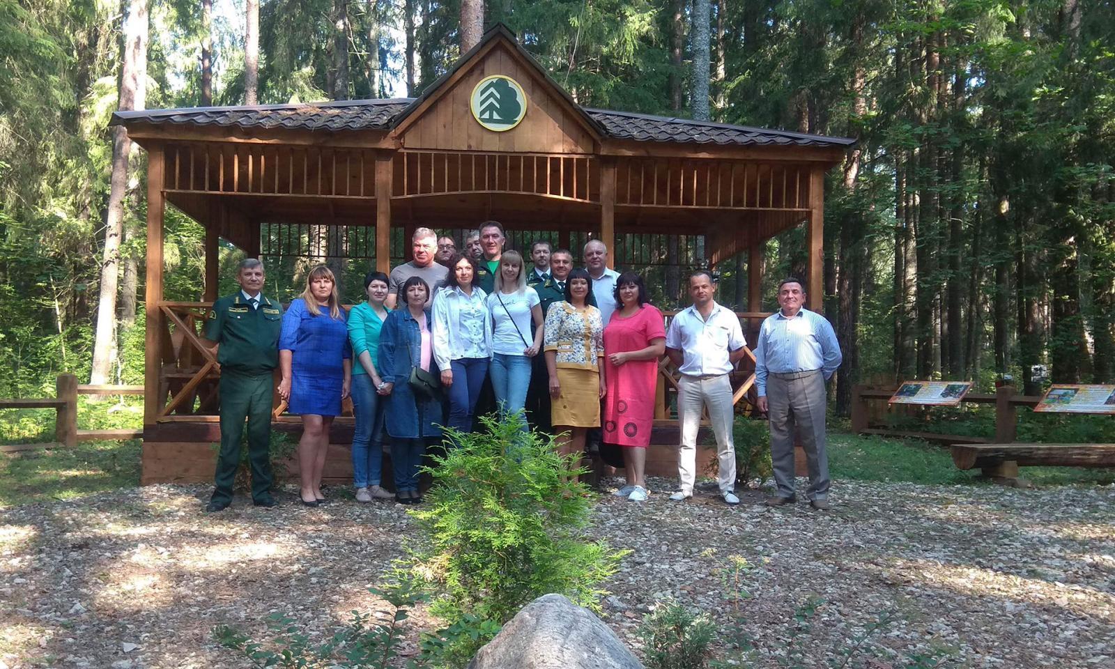 Управление лесами Брянской области приняло участие в международном семинаре