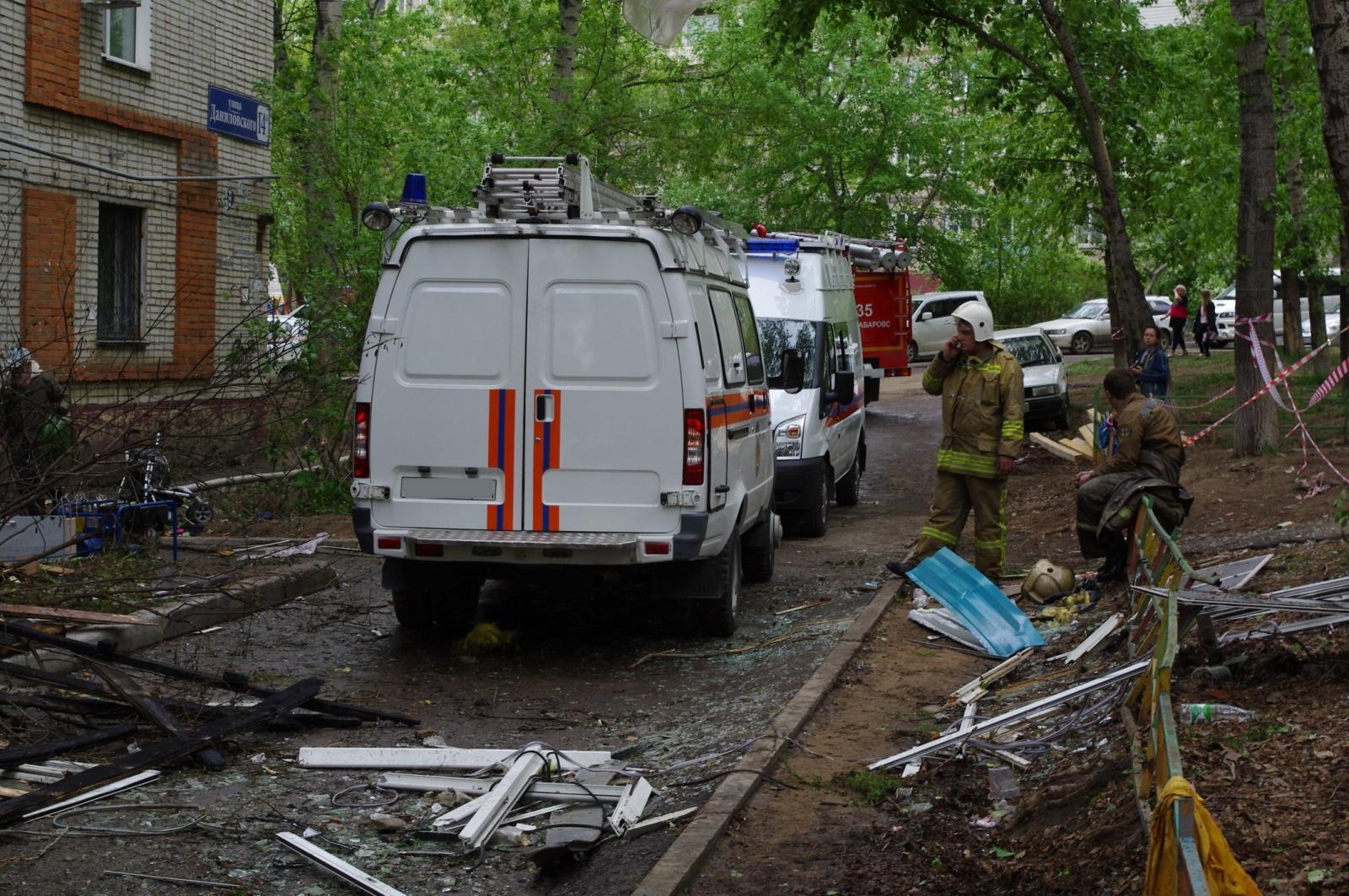 ВОрле взорвался дом, есть пострадавшие